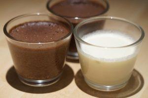 Sobremesa fitness de Mousse de chocolate